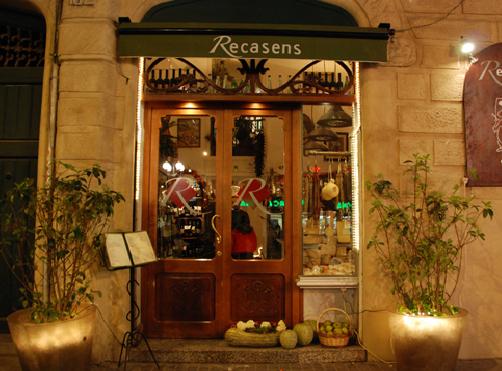 Can Recasens restaurant