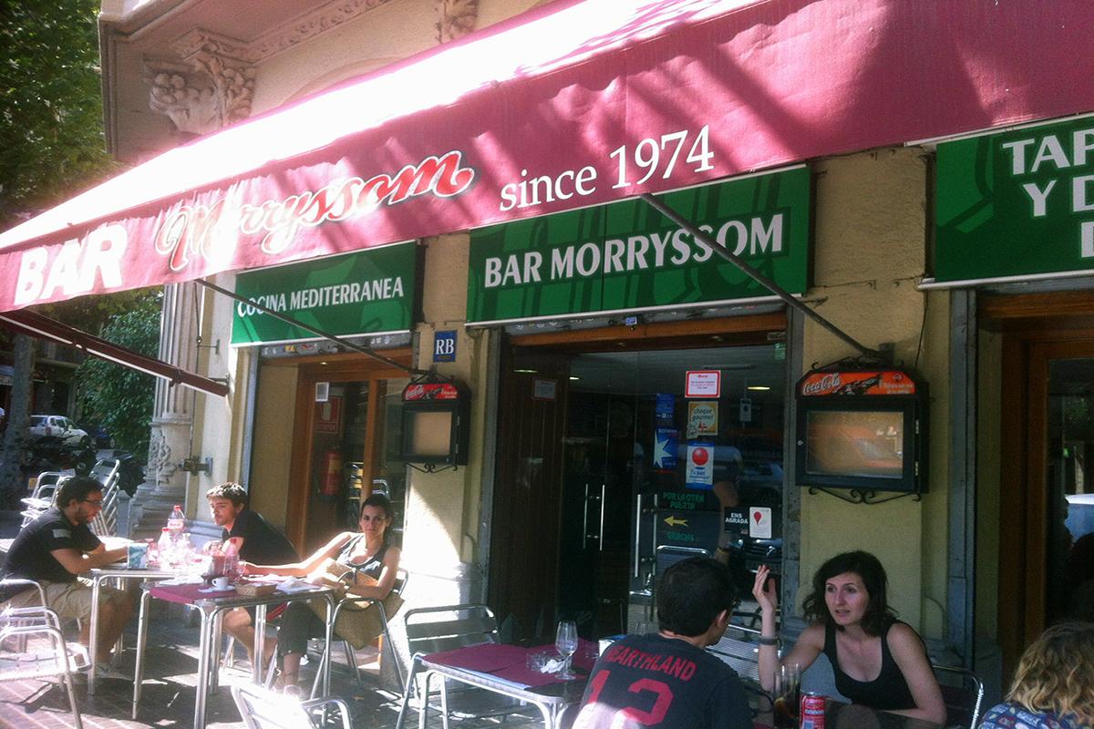 bar morryssom barcelona