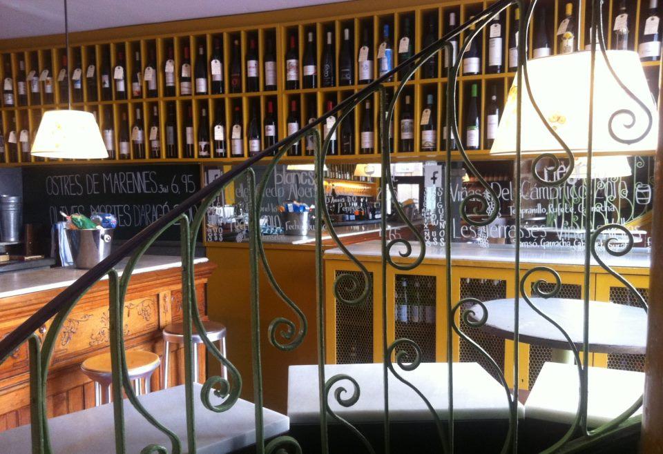 Interior de la La Vinya del Senyor