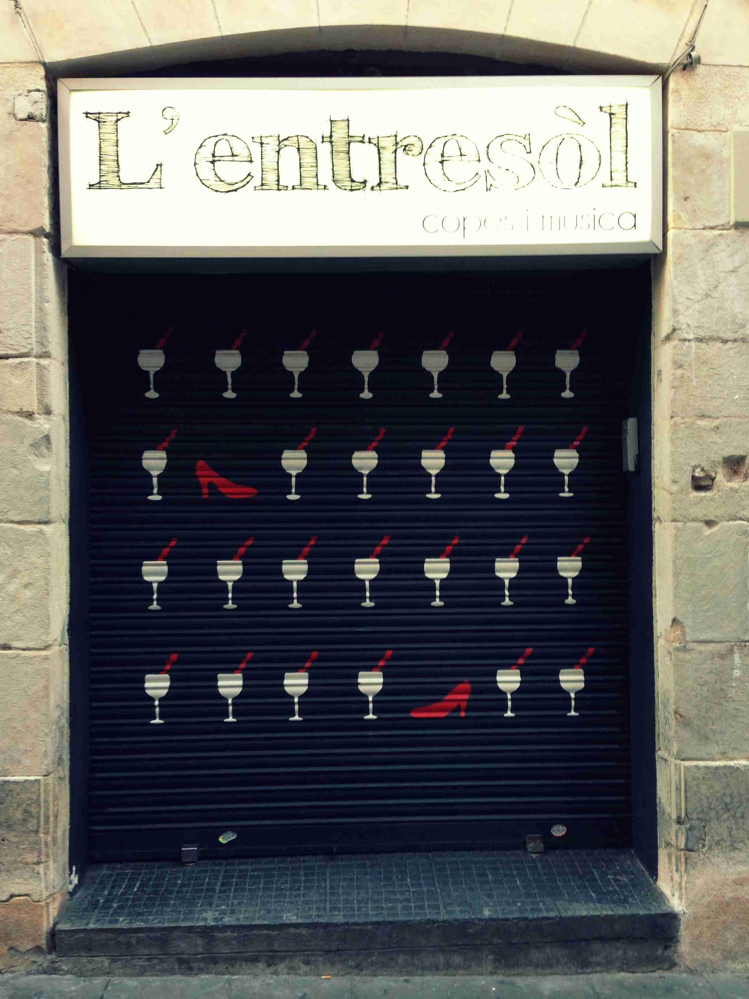 Entrada L'Entresòl bar