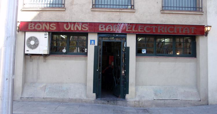 Bar Bodega Electricitat barceloneta
