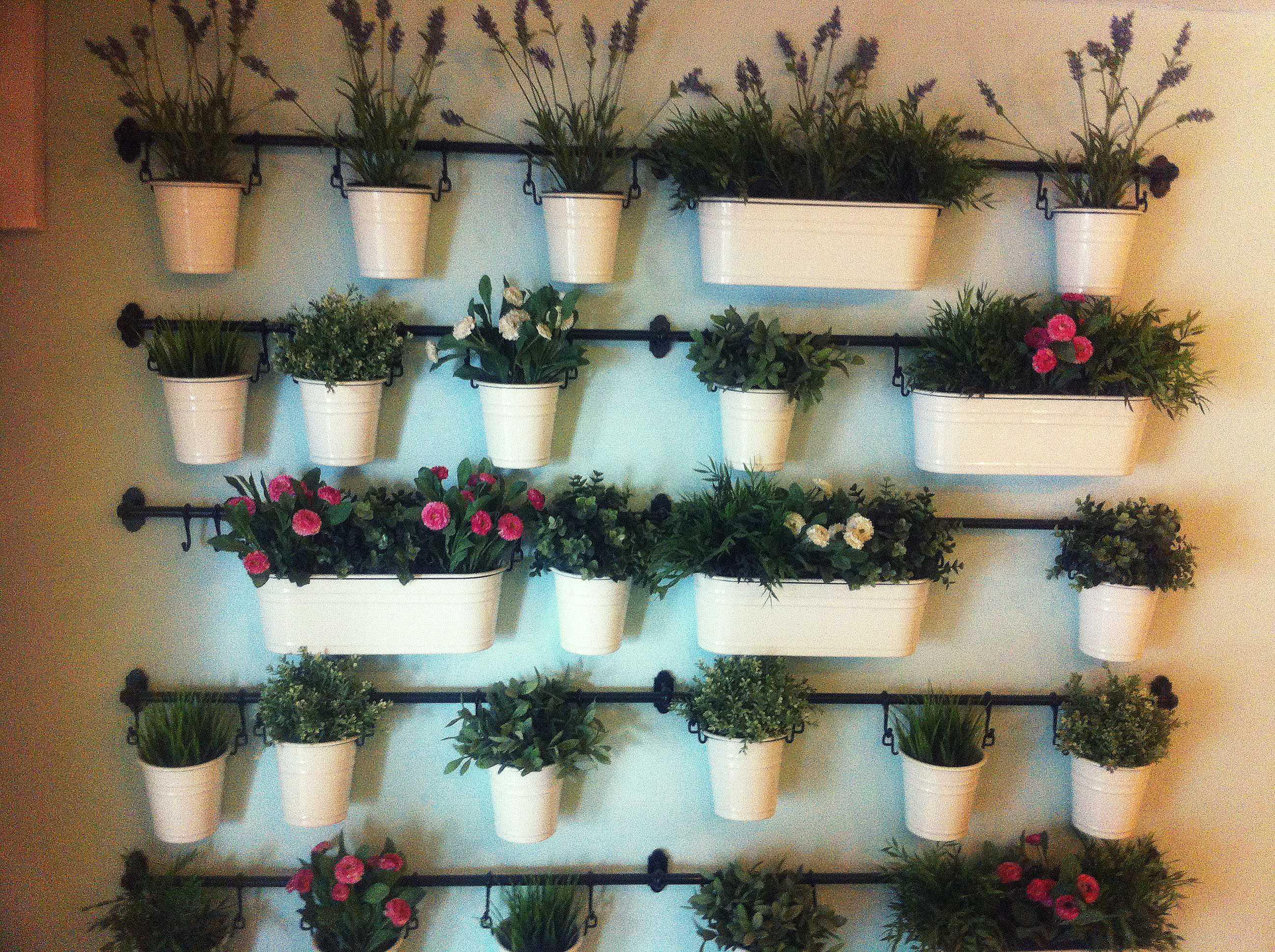Decoración floral Café Martí
