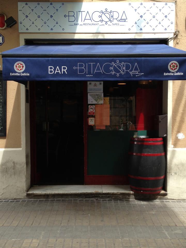 Entrada de bar Bitácora