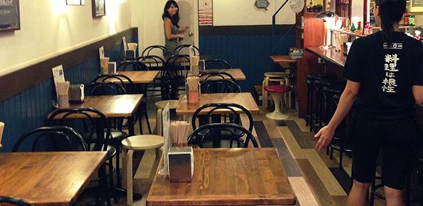 Interior de Ramen-Ya Hiro