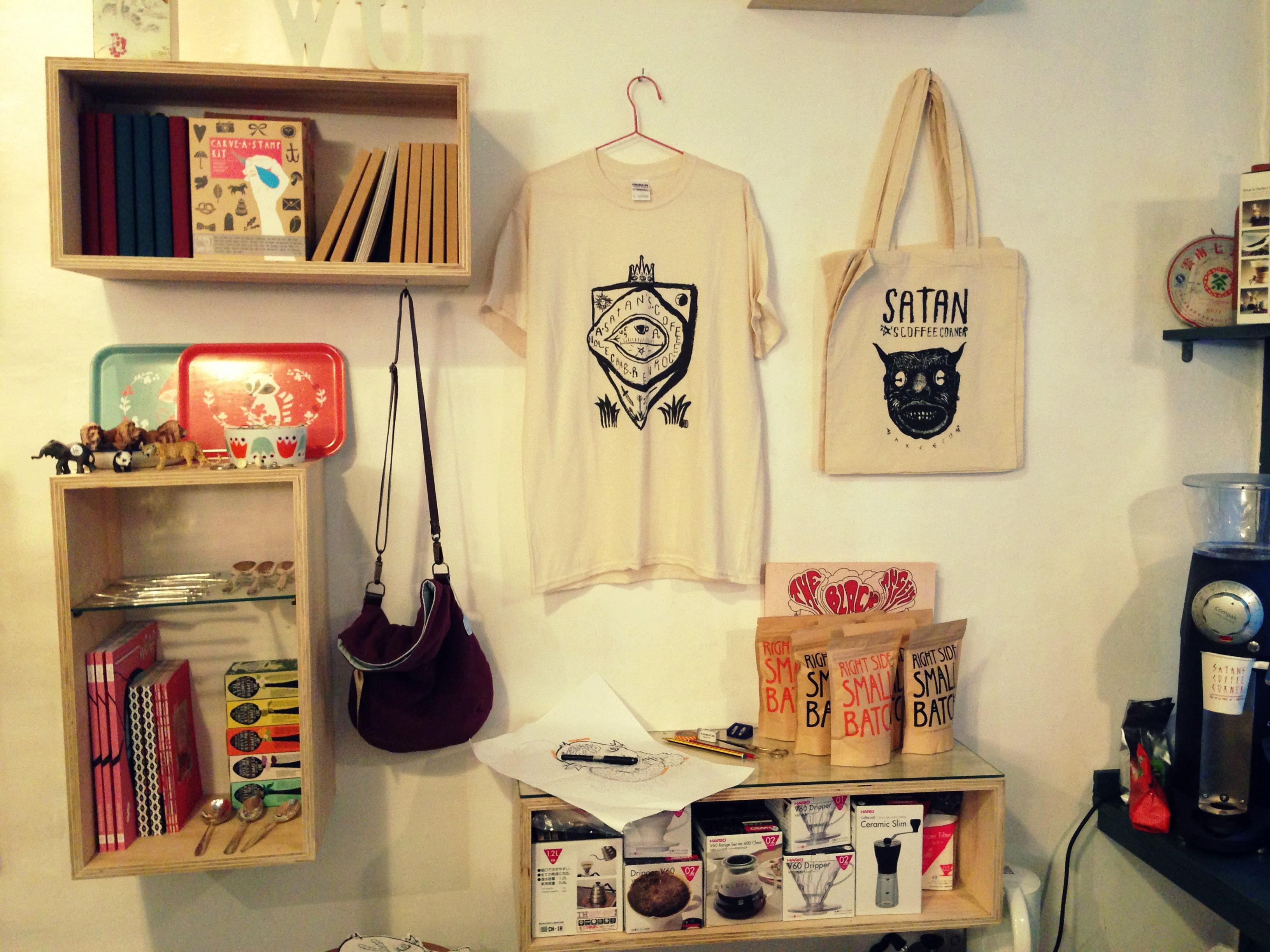 Interior tienda Grey Street