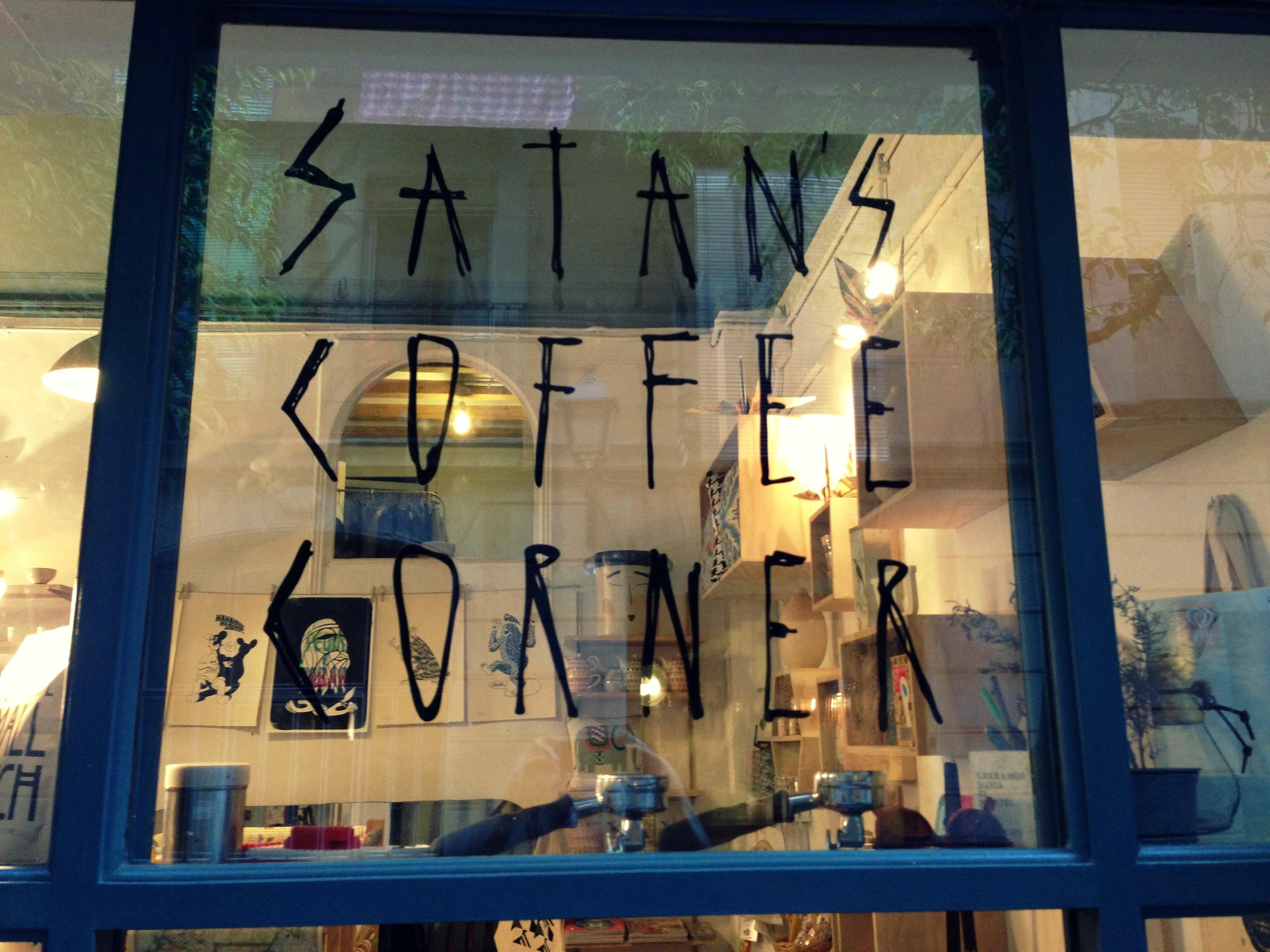 Logo Satan's Coffee Corner