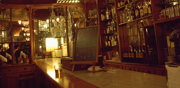 Interior de La Confiteria