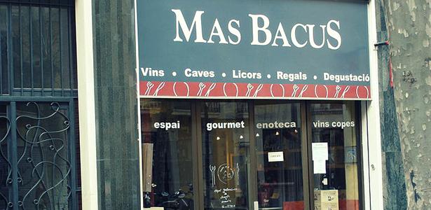 Entrada de Mas Bacus