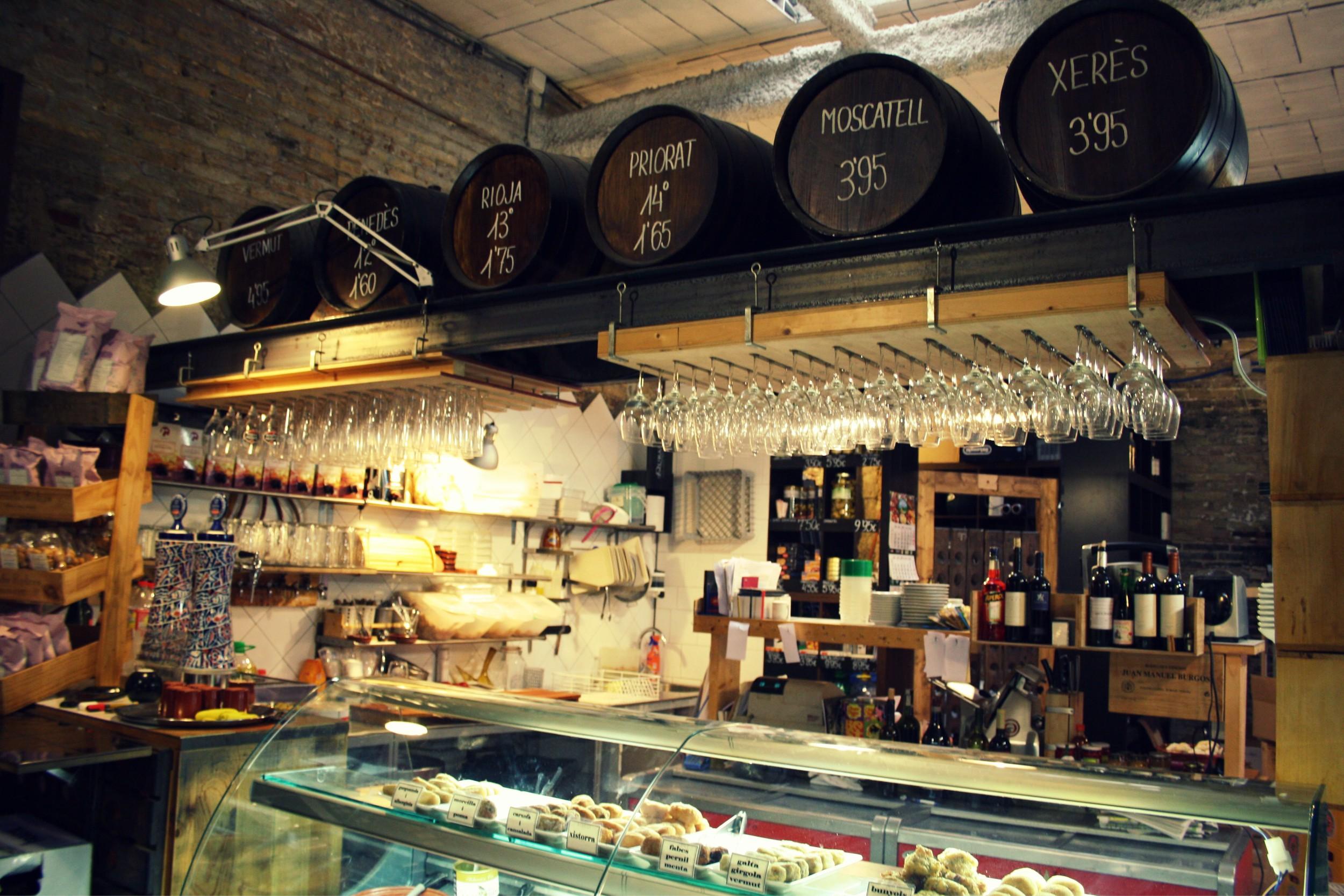 Las delicatessen de Celler Cal Marino