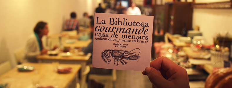 La Biblioteca Gourmande