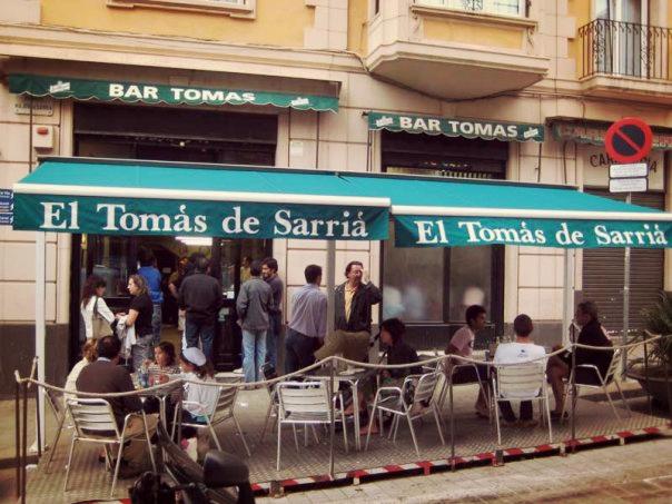bar tomas bravas barcelona