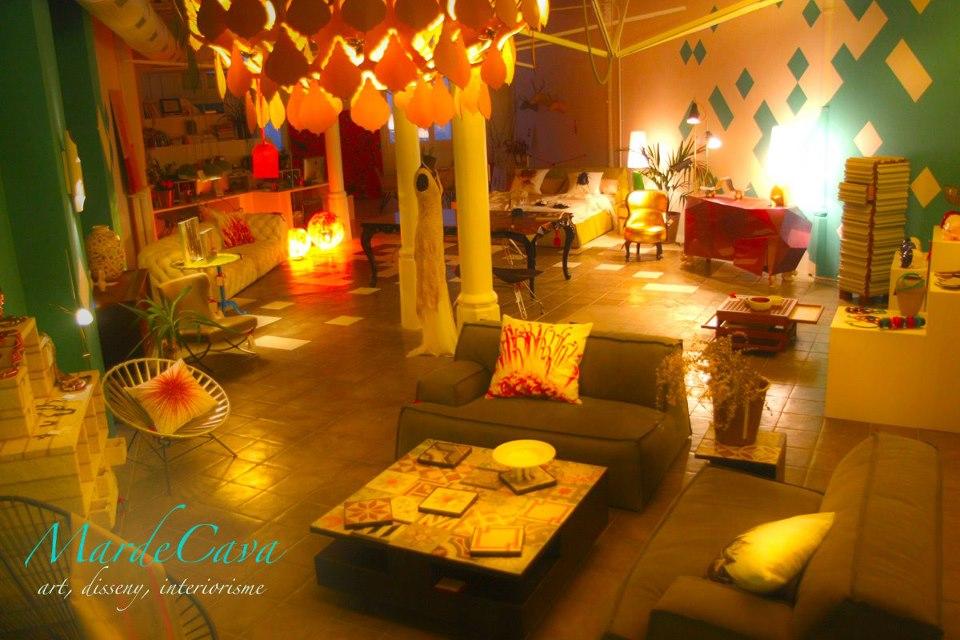 Exposición muebles Mar de Cava