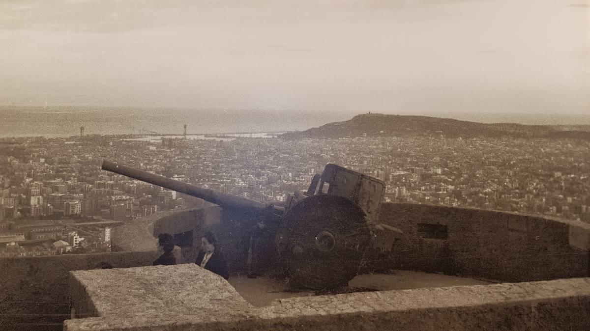 miradors baterias antiaerias bunkers carmel