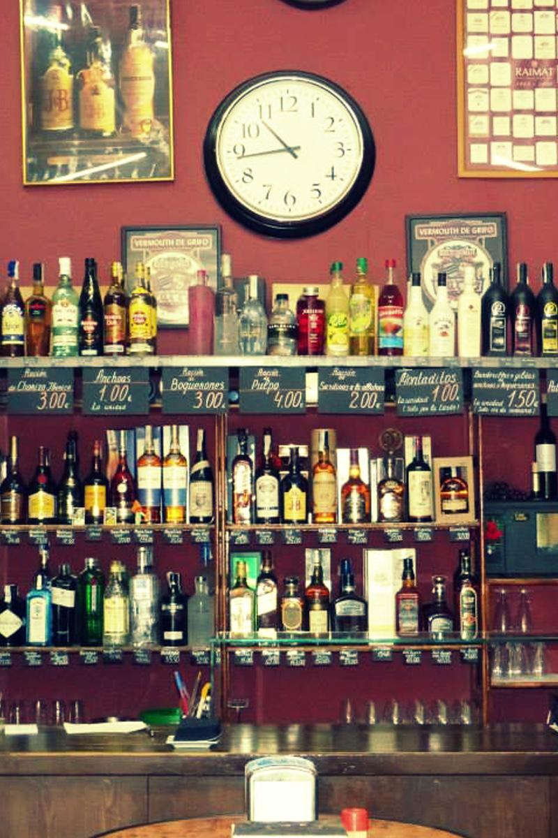 Bar Bodega Vinito sant antoni barcelona