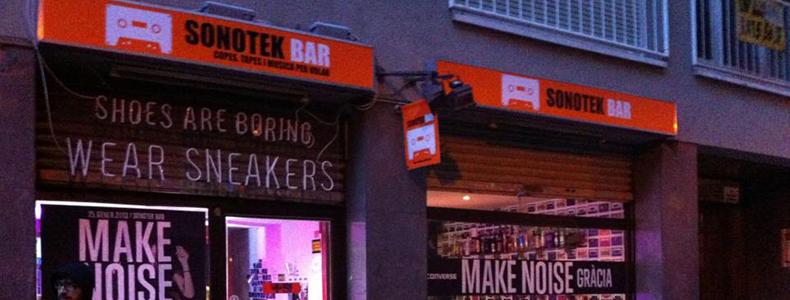 sonotek bar