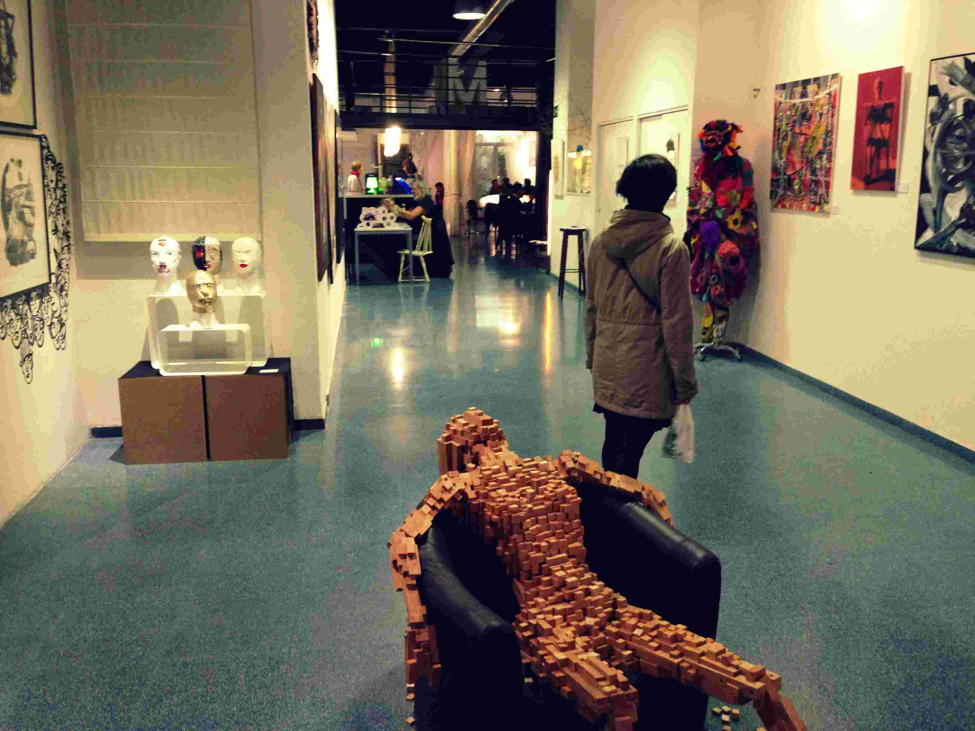 Sala exposiciones de Mitte Barcelona