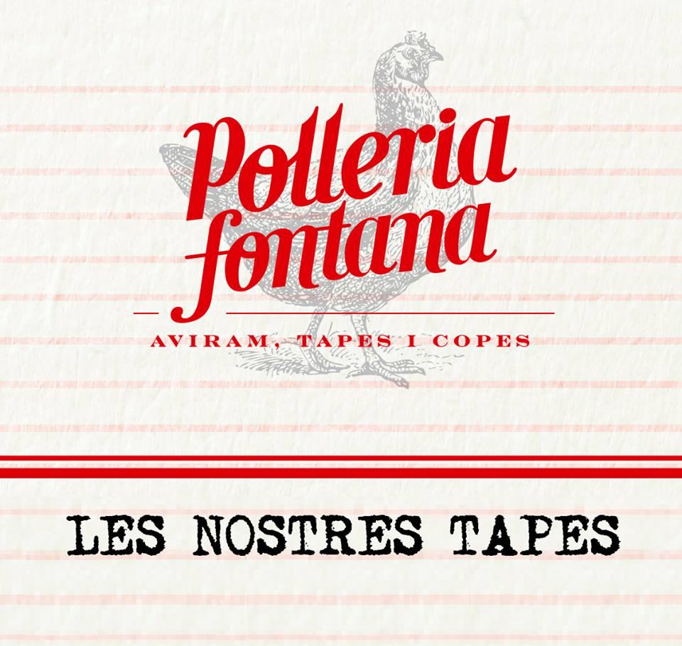 Logo y slogan Polleria Fontana