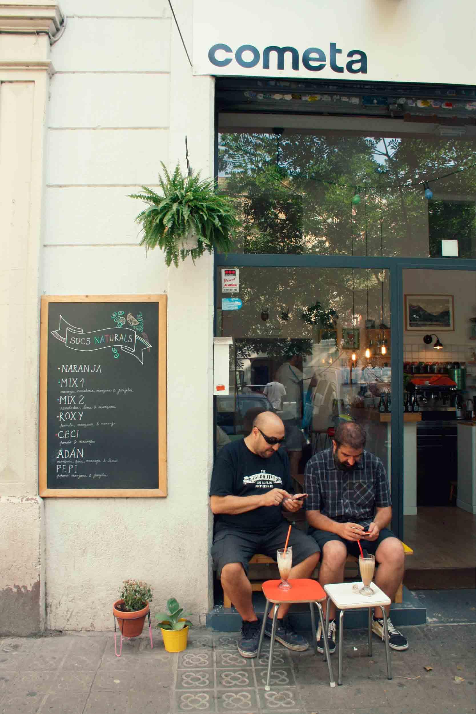 Fachada Café Cometa