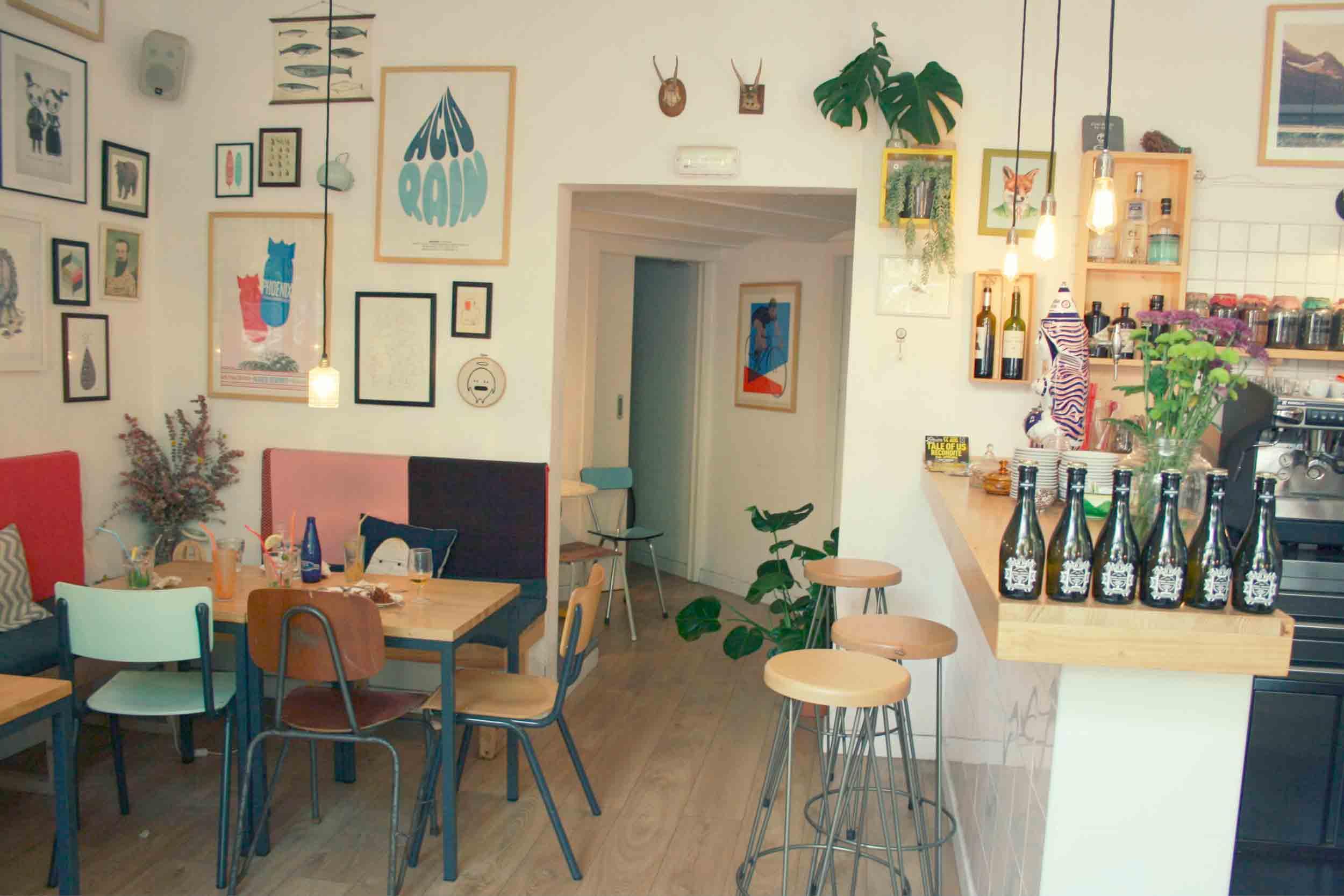 Café Cometa decoración