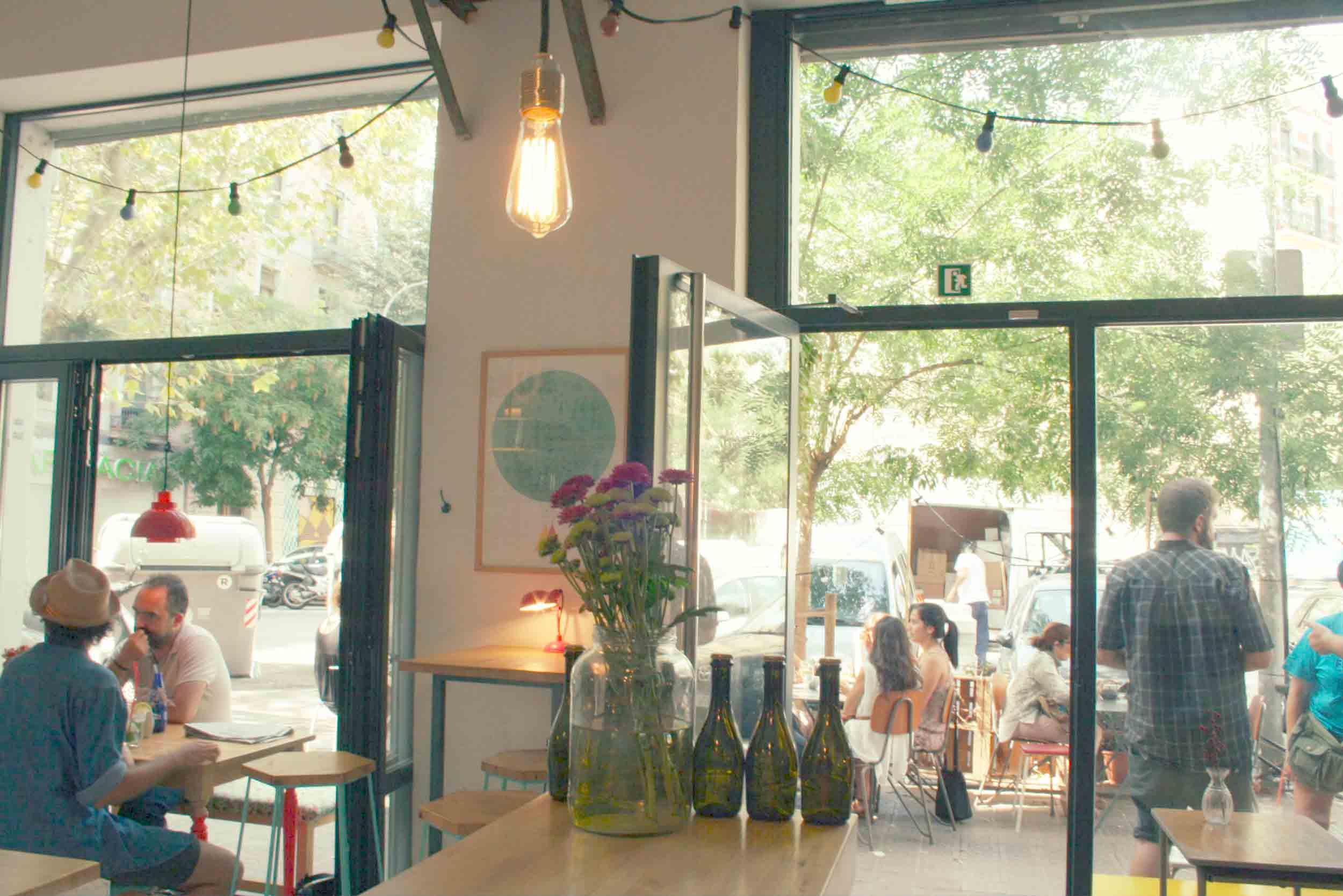 Vista exterior Café Cometa