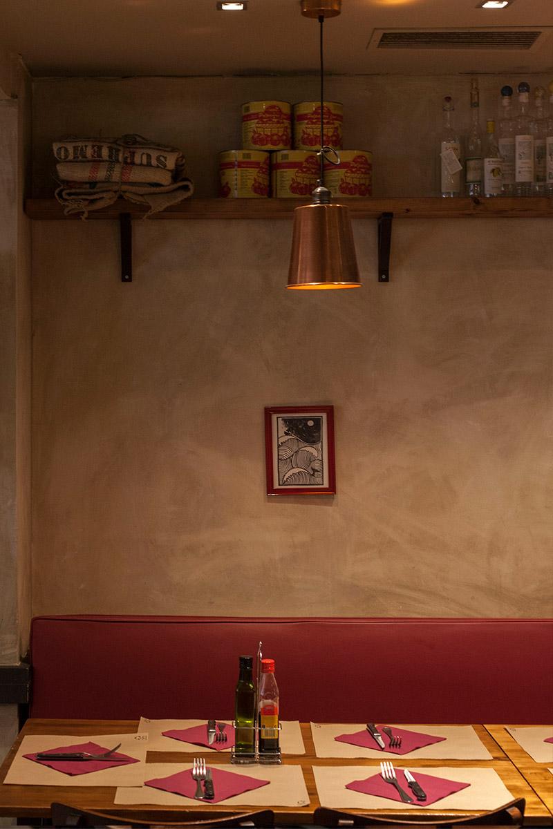La Balmesina pizzería restaurante barcelona
