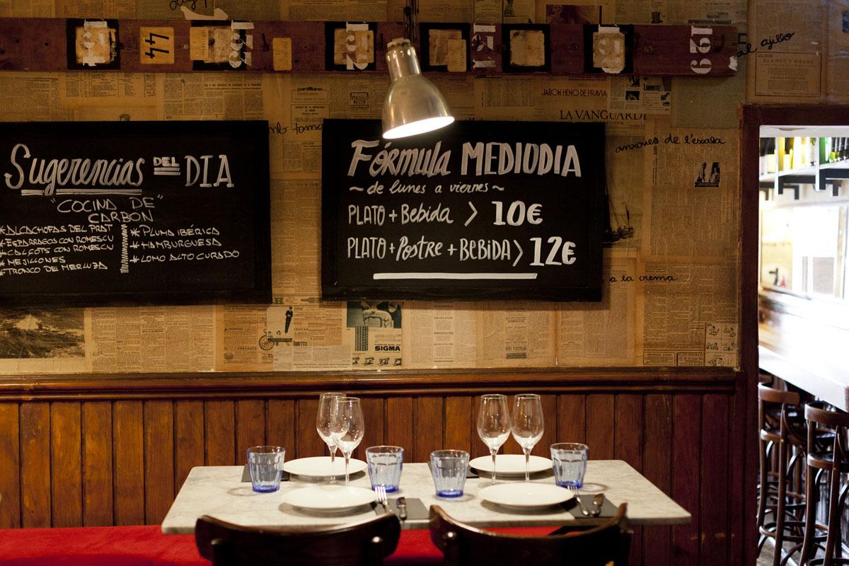 El Canalla restaurante