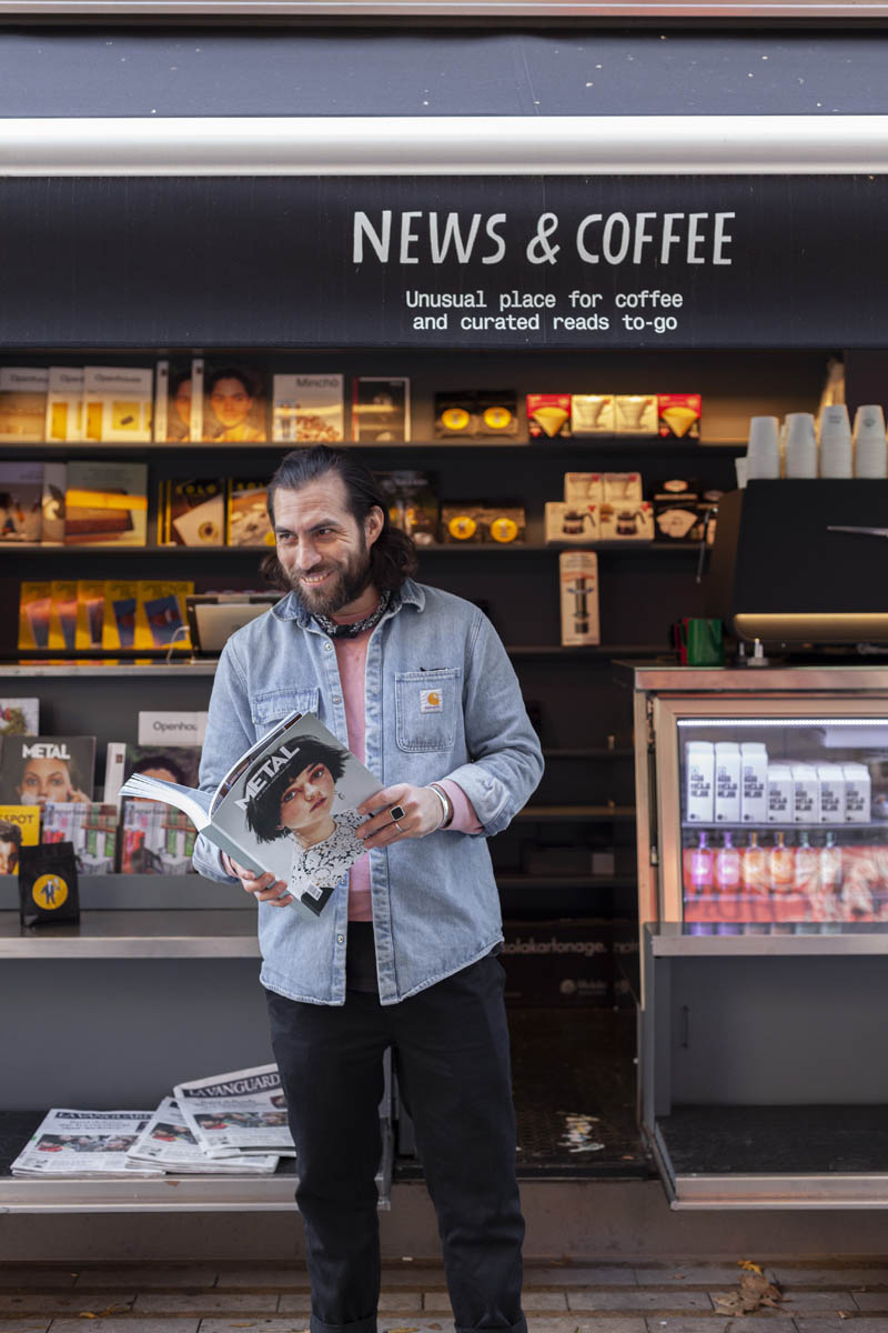 News and Coffee Barcelona