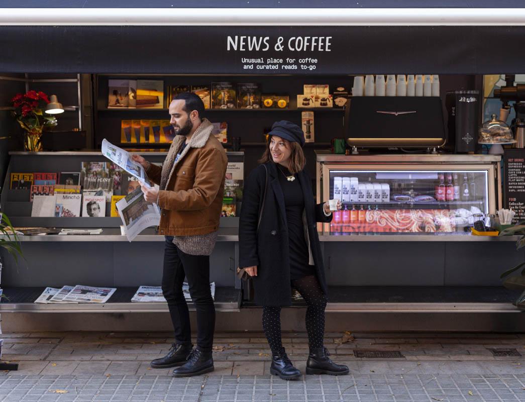 News and Coffee Barcelona