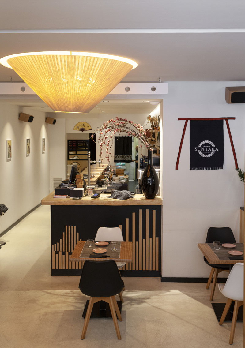 Restaurante japonés Sun Taka