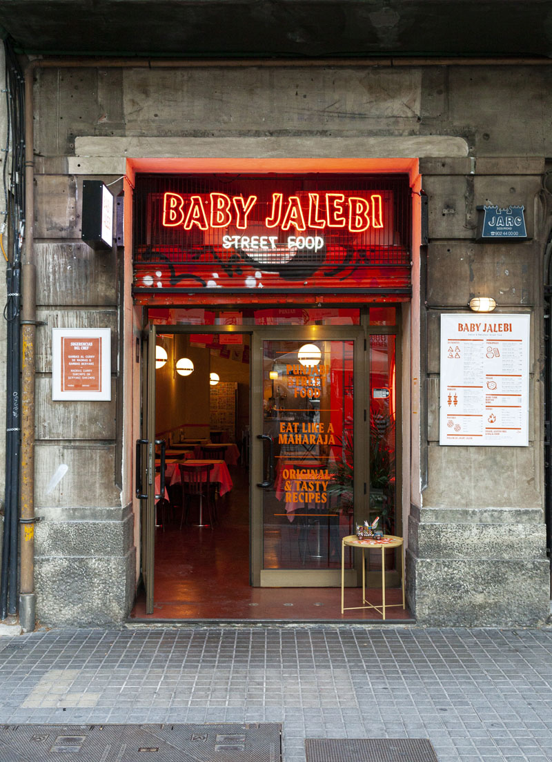 Baby Jalebi Restaurante Indio