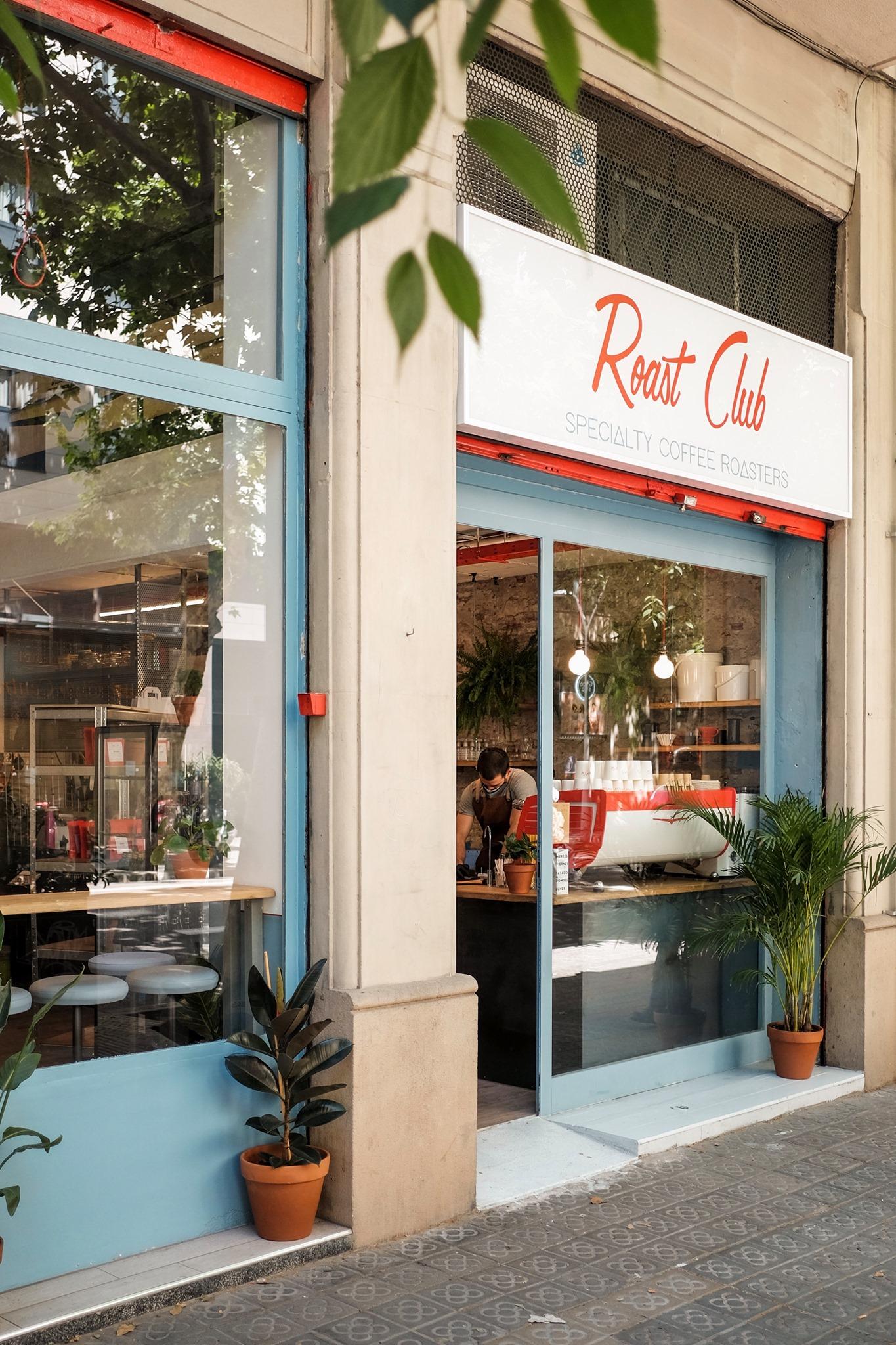 Roast Club cafeteria
