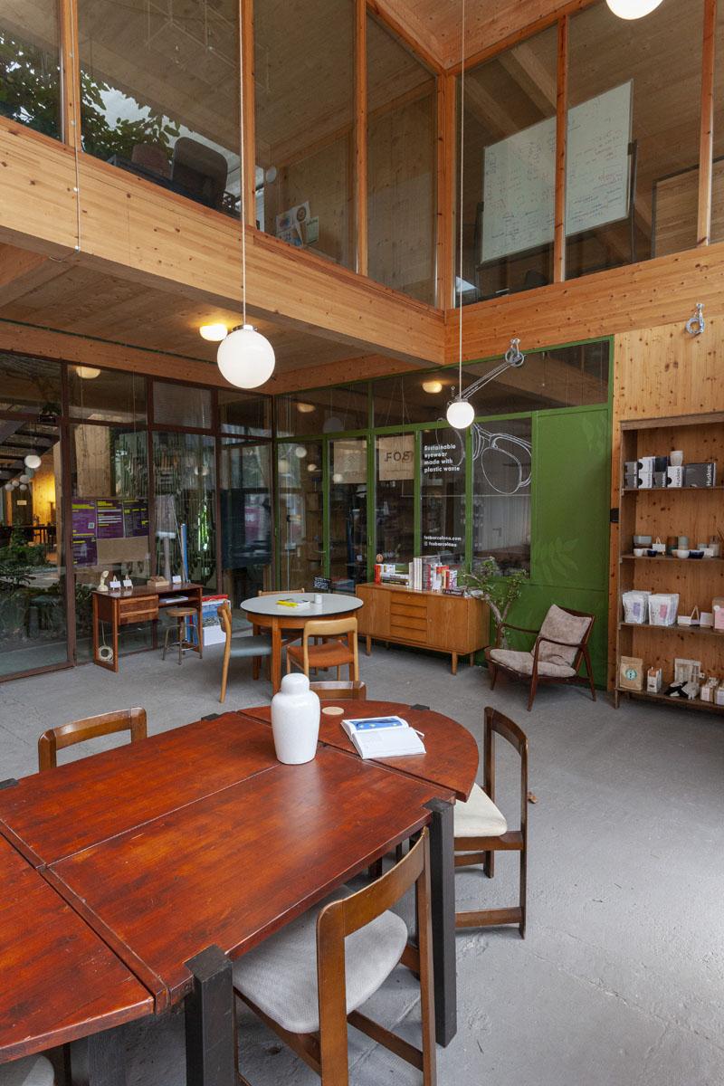 Casa Taos cafetería Poblenou
