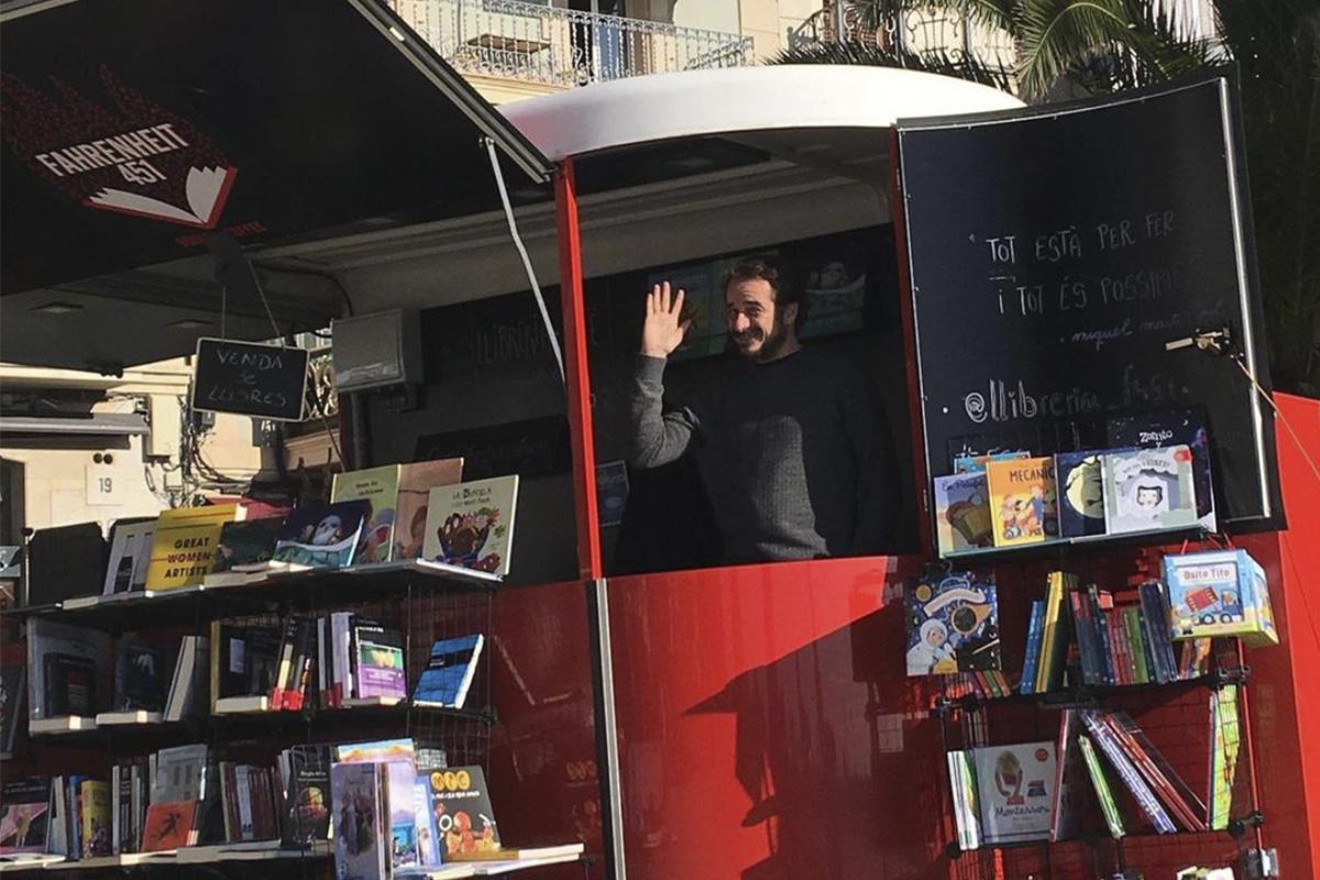 Farenheit 451 llibreria